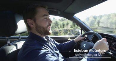 SEAT Tarraco, l'auto attenta ai ciclisti